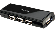 Toshiba USB2.0 Mobile Hub (4-port)