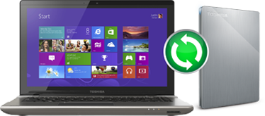 Toshiba Canvio® Alumy Portable Hard Drive - Backup Software on-board