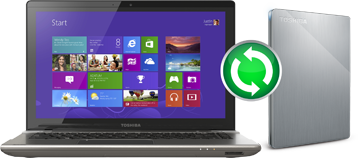 Toshiba Canvio® Premium Portable Hard Drive - Clone Your Computer with Backup Software