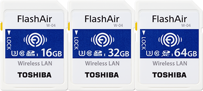Dynabook - FlashAir™ W-04 Wireless SD Card Overview