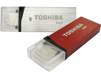 Toshiba Micro USB3.0 Flash Drive Duo