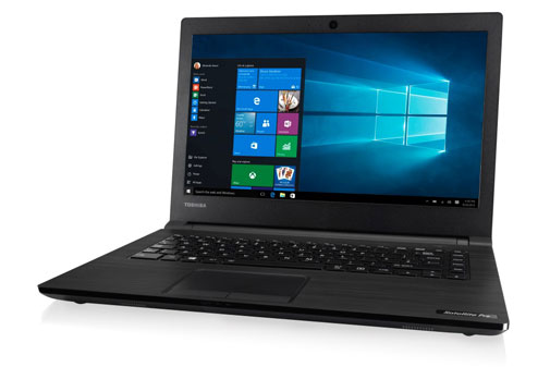 Toshiba Tecra A40 - As Secure as it is Powerful
