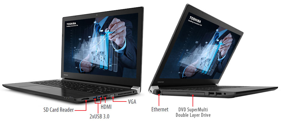 Dynabook Tecra A50 Overview