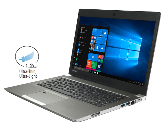 Toshiba Portégé Z30-E - Thin. Light. Durable. With Completed Connectivity