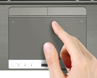 Multi Gesture Touchpad & Clickpad™