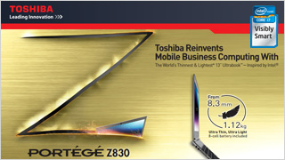 Toshiba Reinvents Mobile Business Computing